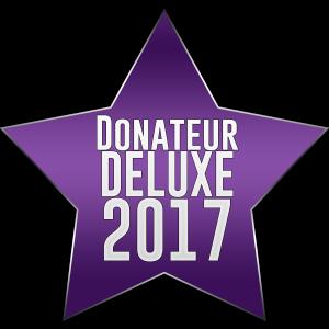 Donateur DELUXE 2017